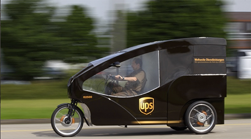 UPS Cargo Bike – Copyrights by UPS