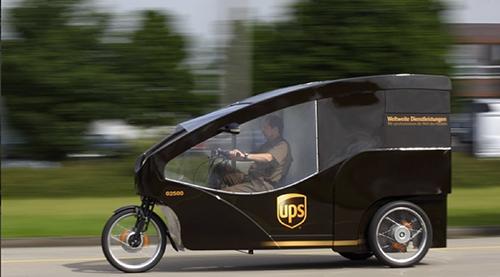 UPS Cargo Bike – Copyrights by UPS