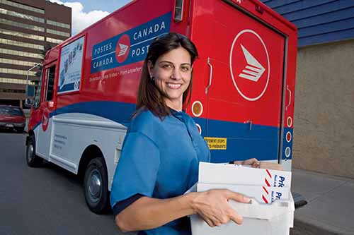 Canada Post Tracking – Copyrights by Canada Post