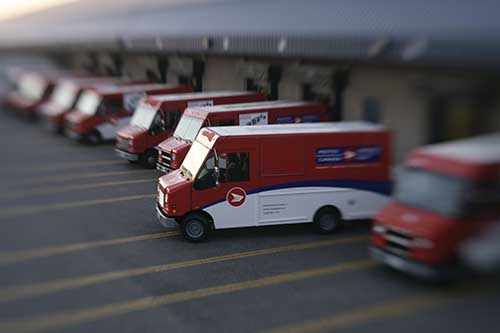 Canada Post Vehicles – Copyrights by Canada Post