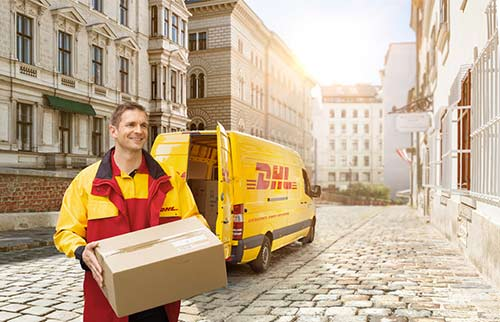 DHL Tracking - Copyrights by DHL