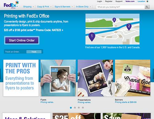FedEx Office Online Shop – Copyrights by FedEx